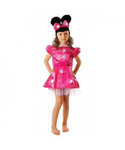 Детский костюм Минни-Маус: платье, головной убор (Польша)