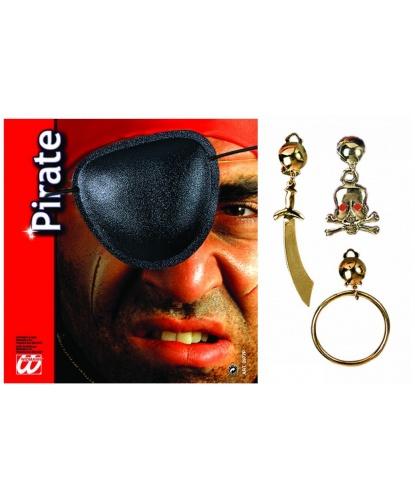 Пиратский набор (наглазник, серьга) (Италия)