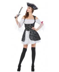 Костюм Леди пиратки: платье (Германия)