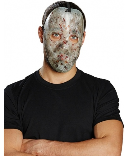 Пластиковая, хоккейная маска с потертостями , пластик (Германия)