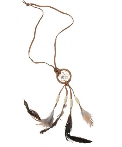 Ожерелье в индейском стиле Ловец снов (Германия)