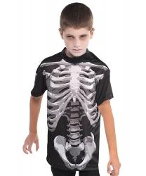 Детская футболка скелета