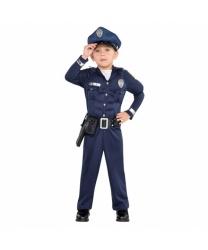 Детский костюм полицейского с мускулами