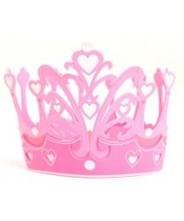 Розовая корона маленькой принцессы