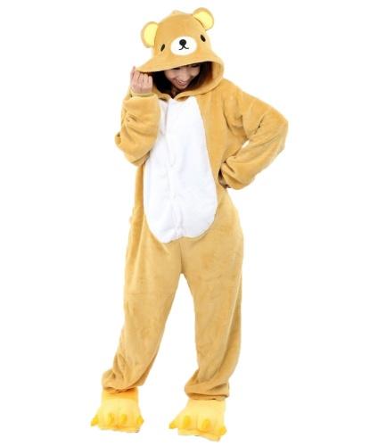 Кигуруми Медведь: комбинезон с капюшоном (Китай)