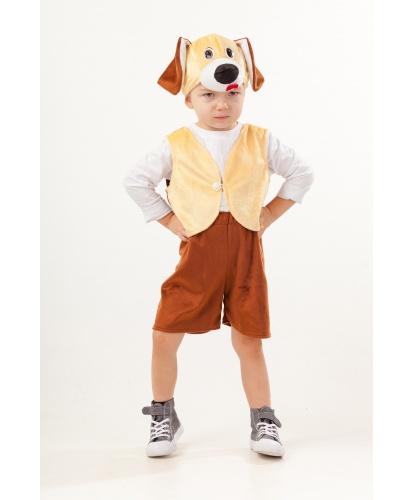 Костюм собачки: жилетка, шорты, шапочка (Россия)
