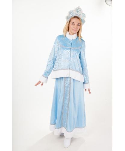 Карнавальный костюм Снегурочка Настенька  жакет 8578ce351131d