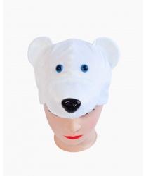 """Шапка """"Белый медведь"""""""