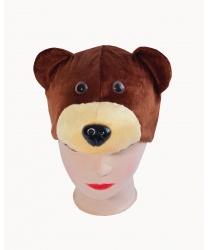 """Шапка """"Бурый медведь"""""""