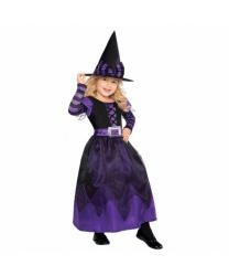 Пурпурное платье ведьмочки