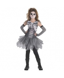 Детское платье на скелета