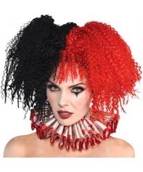 Клоунский парик Jesterina