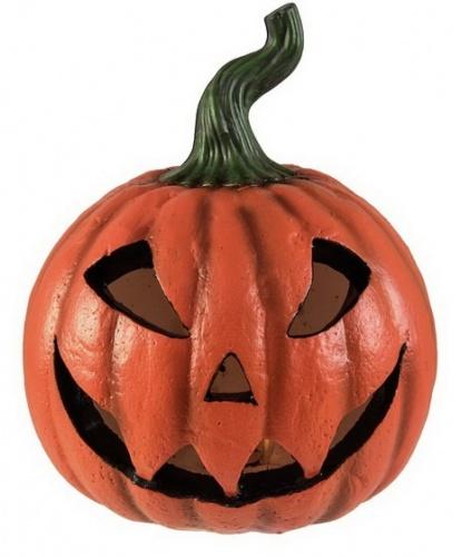 Декоративная тыква на Хэллоуин (со светодиодами)