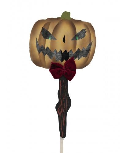 Декорация на Хэллоуин Тыква на колышке
