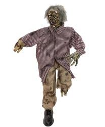 Сидячая кукла зомби с эффектами