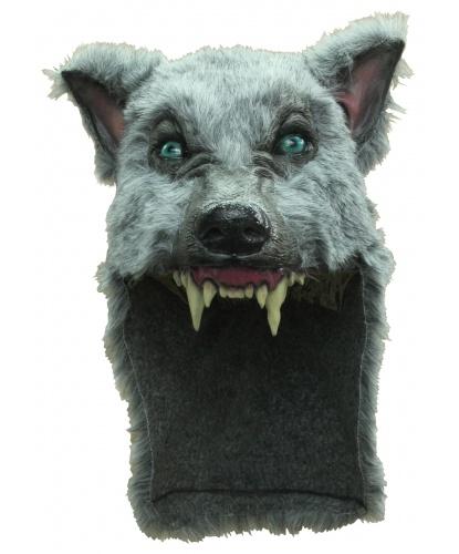 Маска серого волка, иск. мех, полиэстер (Германия)