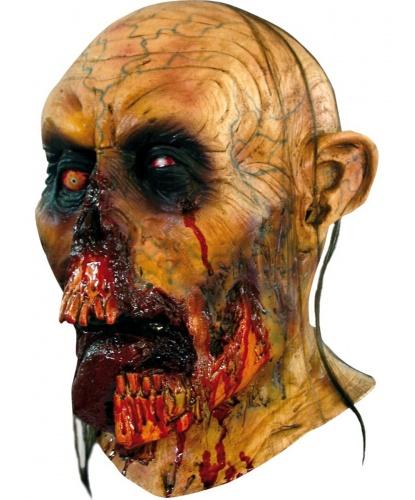 Маска Кошмарный зомби, иск. волосы, латекс (Мексика)
