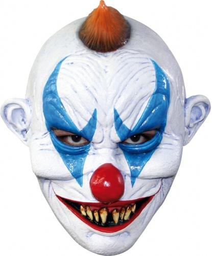 Маска жуткого клоуна, латекс (Мексика)