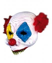 Полумаска ужасного клоуна