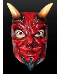 Латексная маска дьявола