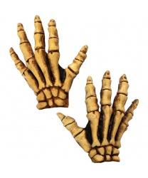 Перчатки скелета с латексными костями (Германия)