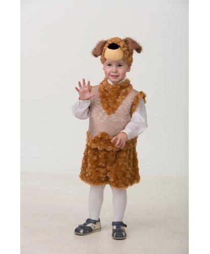 Костюм собачки Билли: маска, безрукавка, шорты (Россия)