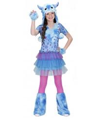 Детский костюм космического голубого монстра