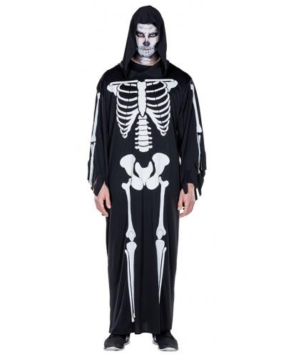 Балахон с костями скелета: балахон с капюшоном (Германия)