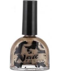 Золотой лак для ногтей - Помада, лаки, гели, арт: 8611