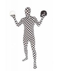 Морф-костюм в шахматную клетку
