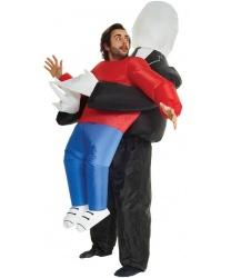 """Надувной костюм """"Похищение Слендерменом"""""""