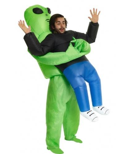Надувной костюм Похищение пришельцем: комбинезон, батарейный блок (Великобритания)