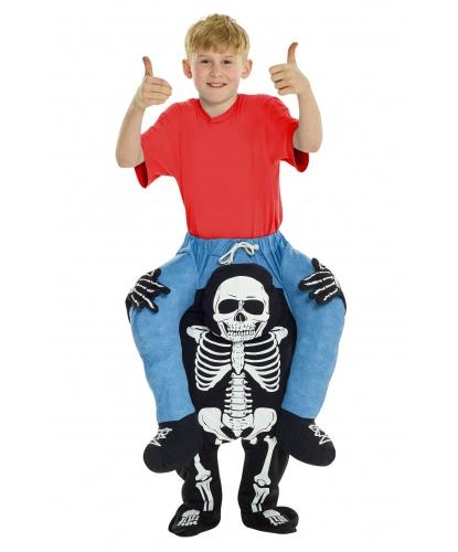 Костюм-наездник Верхом на скелете (детский): брюки (Великобритания)