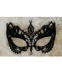 Карнавальная маска EIFEL с бархатистым покрытием