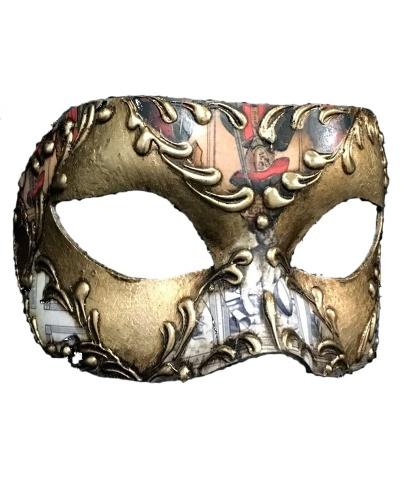 Венецианская маска Stucco, папье-маше (Италия)