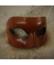 Карнавальная маска светло-коричневая