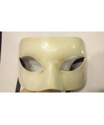 Карнавальная маска цвета слоновой кости
