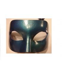 Карнавальная маска цвета морской волны