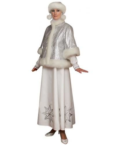 Костюм Зима: платье,шапочка,платок,шубка  (Россия)