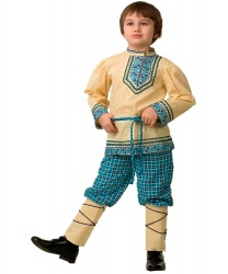 Народный костюм на мальчика