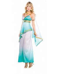 Костюм Греческой богини: платье, повязка на голову на резинке, повязка на руку на липучке (Германия)