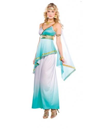 Костюм Греческой богини: платье, повязка на голову, повязка на руку (Германия)