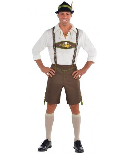 Костюм на Октоберфест: шорты, рубашка, шляпа, носки (Германия)