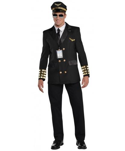 Костюм пилота: пиджак, фуражка, манишка с галстуком, бейджик (Германия)