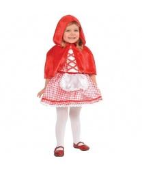 Костюм красной шапочки для малышей