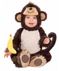 Костюм обезьянки на малышей