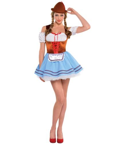 Костюм баварки: платье, шляпа (Германия)