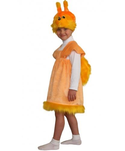 Детский костюм Белочка: платье, головной убор (Россия)
