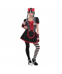 Костюм готической куклы (подростковый)