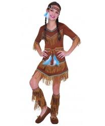 Костюм индейской девочки